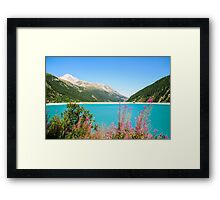 Austria, Zillertal High Alpine nature Park Framed Print