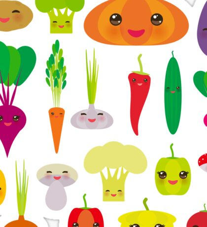 Healthy Veggie Sticker