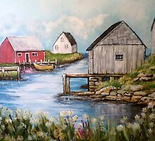 Peggy's Cove by Pamela Plante