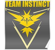 Pokemon Go - Team Instinct Poster