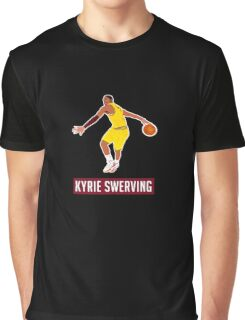 Kyrie Irving Aka Kyrie Swerving Graphic T-Shirt