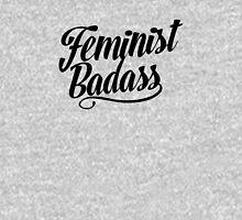 Feminist Badass Womens Fitted T-Shirt