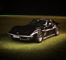 69 Black Vette by Andrew Felton