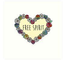 Free Spirit Daisies Art Print