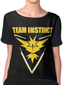 Pokemon Go - Team Instinct Chiffon Top