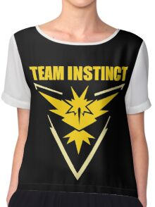 Pokemon Go - Team Instinct Chiffon Top