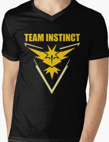 Pokemon Go - Team Instinct Mens V-Neck T-Shirt
