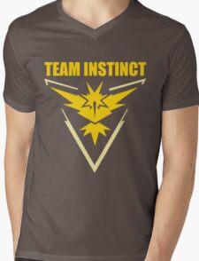 Pokemon Go - Team Instinct Mens V-Neck T-Shirt