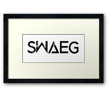 SWAEG Framed Print