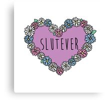 Slutever Daisy Canvas Print