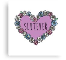 Slutever Daisy Canvas Print