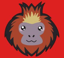 Golden lion tamarin monkey Kids Tee