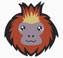 Golden lion tamarin monkey One Piece - Long Sleeve
