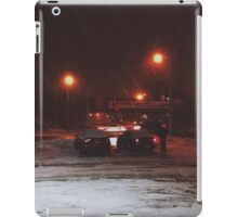 8:23, Just got out into a blizzard iPad Case/Skin
