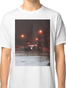 8:23, Just got out into a blizzard Classic T-Shirt