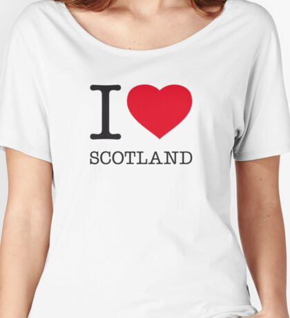 I ♥ SCOTLAND Women's Relaxed Fit T-Shirt