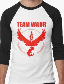 Pokemon Go - Team Valor Men's Baseball ¾ T-Shirt