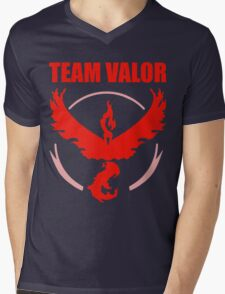 Pokemon Go - Team Valor Mens V-Neck T-Shirt