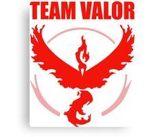 Pokemon Go - Team Valor Canvas Print