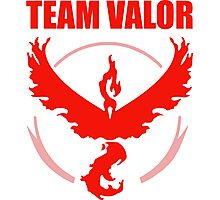 Pokemon Go - Team Valor Photographic Print