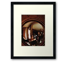 5:08, Boreder than I should be Framed Print