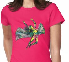 ICARUS THROWS THE HORNS - ACID TRIP Womens Fitted T-Shirt