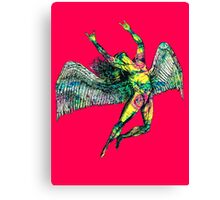 ICARUS THROWS THE HORNS - ACID TRIP Canvas Print