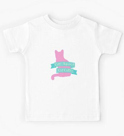 Cats Against Cat Calls Pastel Kids Tee