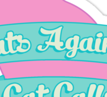 Cats Against Cat Calls Pastel Sticker