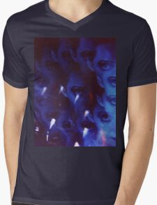 Swirls in Dark - analog 35mm color film photo Mens V-Neck T-Shirt