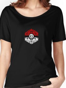 Pokeball D20 Women's Relaxed Fit T-Shirt
