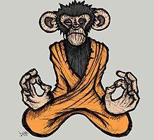 Zen Monkey 3 by Brett Gilbert