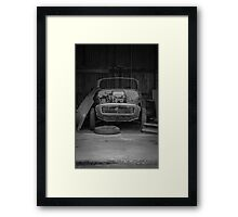 Morris Minor Convertible 1956 Framed Print