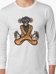 Zen Monkey 3 Long Sleeve T-Shirt