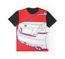 Subaru WRX STI Custco Moon Graphic T-Shirt