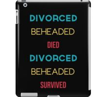 The Six Wives of Henry VIII iPad Case/Skin