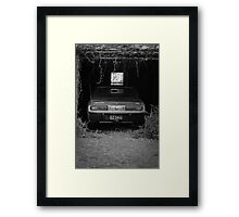Toyota Crown 2600 Super Saloon Toyoglide 1974 Framed Print