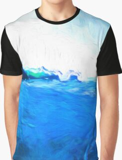 Driftwood on the Beach Graphic T-Shirt