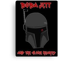 Boba Jett and the Clone Hearts  Canvas Print