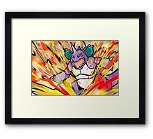 Nidoking | Earth Power Framed Print