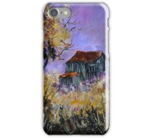 Old barn Ardennes  iPhone Case/Skin