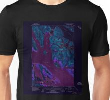 USGS TOPO Map Alaska AK Mount Fairweather D-2 357604 1950 63360 Inverted Unisex T-Shirt