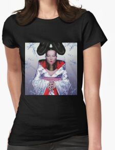 BJORK CUTE Womens Fitted T-Shirt