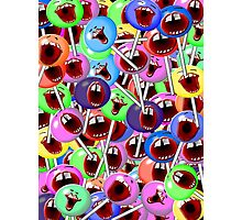 laughing lollipops Photographic Print