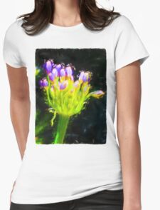 Baby Agapanthus Womens Fitted T-Shirt