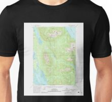 USGS TOPO Map Alaska AK Petersburg D-4 358378 1951 63360 Unisex T-Shirt