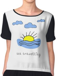Sea travelling Chiffon Top