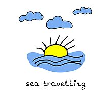 Sea travelling Photographic Print