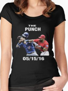 the punch texas Women's Fitted Scoop T-Shirt