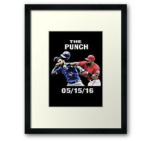 the punch texas Framed Print